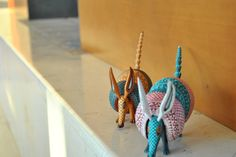 Alebrije / Craft / Folk Art > Friends Armadillos
