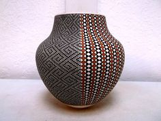 Handcoiled Acoma Pottery Native Indian Pueblo Four Seasons by Frederica Antonio | eBay