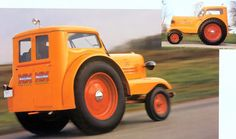 1938 MINNEAPOLIS MOLINE UDLX AERO TRACTOR - SIDE VIEW - CAB