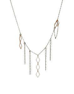 Enlarge Gorjana Diamond Tassel Necklace