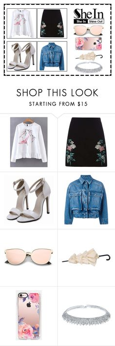 """""""flowers"""" by nicolezooms ❤ liked on Polyvore featuring Dorothy Perkins, Dolce&Gabbana and Casetify"""