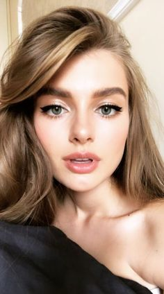 natural makeup looks daily makeup everyday makeup simple makeup ideas natural makeup tutorial natural makeup tutorial for beginners Natural Makeup Looks, Simple Makeup, Natural Makeup For Blondes, Young Makeup Looks, Colorful Makeup, Natural Everyday Makeup, Bridal Makeup, Wedding Makeup, Beauty Makeup