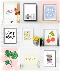12 Free Printable Pieces of Wall Art » Curbly | DIY Design & Decor