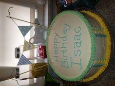 Isaac's first birthday cake
