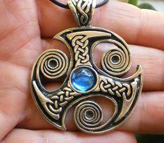 Pewter Loki of Urnes Viking Snakes Carving Pendant Necklace OEl49i