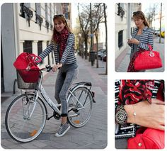 Madrid streetstyle on bike