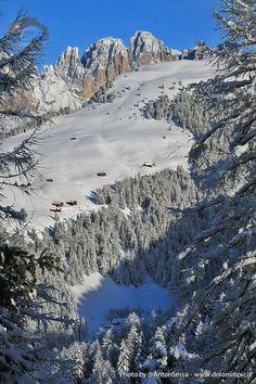 Winter 2013-2014 in #valdifassa #dolomiti Italy Sassolungo South Tyrol Trentino-Alto Adige