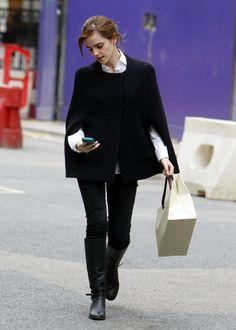 Beautiful Emma Watson Street Style : Charming Emma Watson Street Style