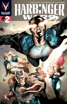 HARBINGER WARS #2 (of 4) PERGER VARIANT/Search//Home/ Comic Art Community GALLERY OF COMIC ART