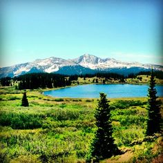 Come see the alpine lakes surrounding Durango, Colorado. Little Molas Lake is on the way from Durango to Silverton