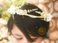 The bride's crown.