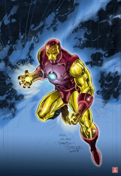 Iron man by Jim Lee......!!!!
