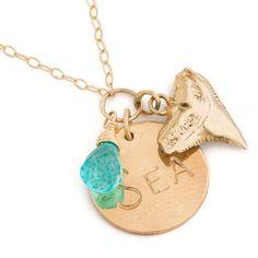 Bikini Slayer Swim - Kate Davis Jewelry Sea Necklace, $90.00 (http://www.bikinislayer.com/kate-davis-jewelry-sea-necklace/)