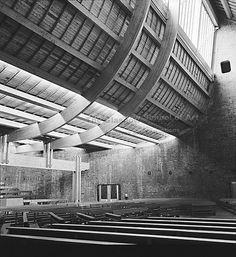 St Benedict's, Drumchapel, Glasgow - 1970  sadly demolished