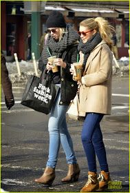 Celeb Diary: Ireland Baldwin with Gigi Hadid out and about in New York