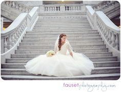 Here are the top ten wedding photos you need of your wedding dress, beyond the standard bridal portraits Wedding Dresses Lds, Lace Wedding Dress, Wedding Poses, Wedding Ideas, Temple Wedding, Dream Wedding, Trendy Wedding, Bridal Pictures, Utah Wedding Photographers