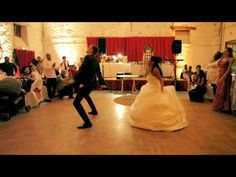 Ouverture de bal mariage ! Amazing & wicked wedding first dance ! Stéphanie & Julien - YouTube