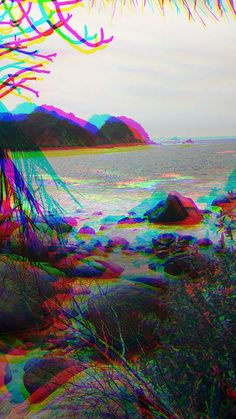 Trippy Art Psychedelic Beach 21 Ideas For 2019 Trippy Iphone Wallpaper, Glitch Wallpaper, Mood Wallpaper, Tumblr Wallpaper, Wallpaper Backgrounds, Lock Screen Wallpaper, Black Aesthetic Wallpaper, Aesthetic Iphone Wallpaper, Aesthetic Wallpapers