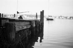 A Winter Walk in Black & White: The Old Ramp | Konica Autoreflex TC, 50mm F1.7, Kodak Tri-X 400