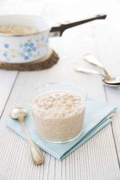 Riz au lait à la vanille et au lait de riz – vegan et sans lactose