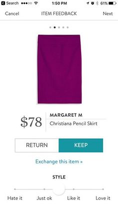 Margaret M Christiana Pencil Skirt