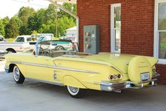 1958 Impala Convertible...Beep Beep Repin brought to you by #CarInsuranceagents at #HouseofInsurance in #Eugene/Springfield