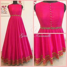 The perfect wedding collection of salwar suits can do wonders to any woman's personality and bring the best out of her. Lehenga Designs Simple, Kurta Designs, Blouse Designs, Indian Designer Outfits, Indian Outfits, Designer Dresses, Long Gown Dress, Dress Up, Anarkali Dress