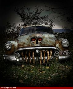 http://www.freakingnews.com/pictures/58000/Rusty-Death-Car--58266.jpg