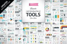 Infographic Design Infographic Elements Bundle by Infographic Template Shop on Creative Mar Infographic Tools, Infographic Templates, Infographics Design, Ppt, Creative Sketches, Pencil Illustration, Digital Illustration, Paint Markers, Business Card Logo