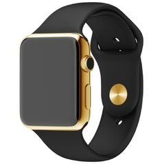 24 Karat Gold Plated 42mm Apple Watch with Black Sports Band (Yellow Gold) 24 karat yellow gold plated Apple Watch with black sports band. Plating performed by Read more http://themarketplacespot.com/24-karat-gold-plated-42mm-apple-watch-with-black-sports-band-yellow-gold/