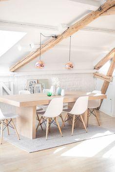 35 fotos e ideas para decorar la mesa del comedor   Mil Ideas de Decoración #decoración