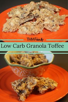 Low Carb Granola Toffee (Gluten Free, Grain Free, THM Friendly)