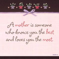 Mother knows loves☆. Love You The Most, I Love You Mom, Love My Kids, As You Like, First Love, My Love, Mother Daughter Quotes, To My Mother, Mother Quotes