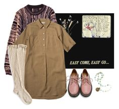 """""""easy come"""" by paper-freckles ❤ liked on Polyvore featuring mode, COOGI, Moleskine et Retrò"""