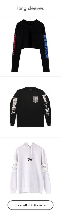 """""""long sleeves"""" by vheart-official ❤ liked on Polyvore featuring tops, sweaters, sweatshirts, cut-out crop tops, bunny top, crop top, t-shirts, long sleeve tees, long sleeve tops and longsleeve t shirts"""