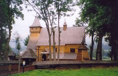 Dunajec Raft Trip,  Spływ Dunajcem, Church in Debno Podhalanskie, Kościół w Dębnie Podhalańskim www.krakow-tours.pl/