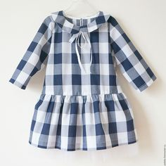 Image may contain: 1 person, standing and stripes Cotton Frocks For Kids, Frocks For Girls, Kids Outfits Girls, Little Girl Dresses, Girl Outfits, Little Girl Fashion, Toddler Fashion, Kids Fashion, Baby Frocks Designs