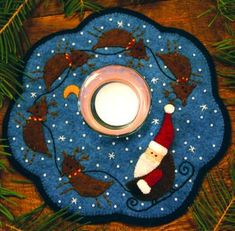 Flickr - Photo Sharing! Picture only - This would be so cute, bigger as a tree skirt...