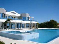 Maisons de luxe moderne