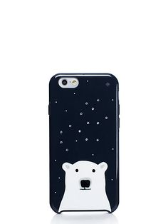 sparkle polar bear iphone 6 case - kate spade new york