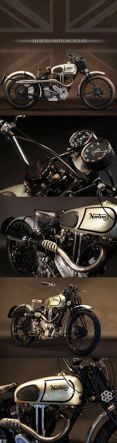 1938 NORTON 490cc M18 #forsale #heroesmotors #caferacer #vintagemotorcycles #triumph #harleydavidson #losangeles #california #norton #vincent #indian #classicmotorcycles #ateliersbueno #photosergebueno
