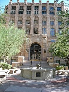 Phoenix Daily Photo Maricopa County Courthouse Built 1928 Downtown