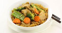 Pork and Noodle Stir Fry | Tony Ferguson Weightloss Program