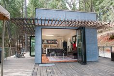 """Green"" Off-Grid Glass House - Houses for Rent in Grass Valley, California, United States"