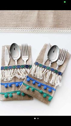 - Food Tutorial and Ideas Burlap Crafts, Diy And Crafts, Crafts For Kids, Ramadan Crafts, Ramadan Decorations, Sewing Projects, Projects To Try, Boho Home, Decoration Table