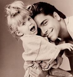 Uncle Jessie and Michelle!