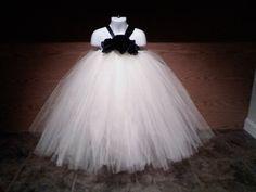 The ChloeCharming Ivory Halter Dress with by tallulahandbelle, $59.95