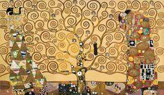 Gustav Klimt「El árbol de la vida」