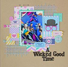 A Wicked Good Time - Scrapbook.com