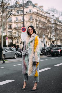 Paris Fashion Week Street Style Fall 2018 Day 7 Cont. - The Impression
